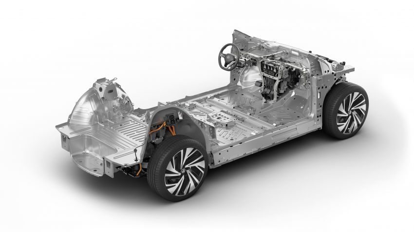 Volkswagen ID.4 electric SUV debuts – 77 kWh battery, 520 km range; from RM135,412 in US after tax credit Image #1182009