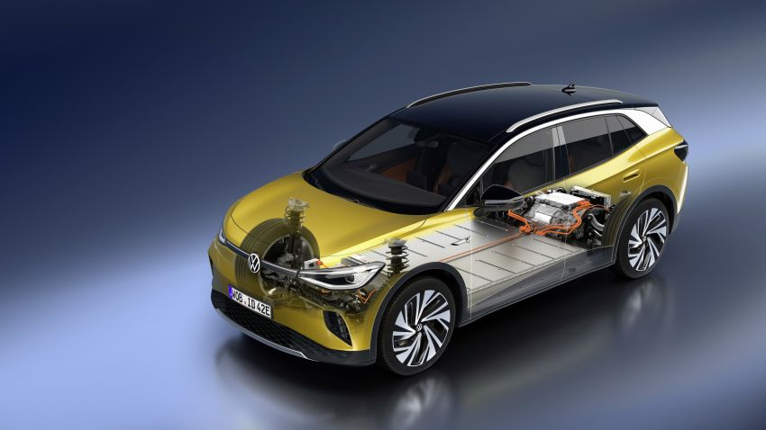 Volkswagen ID.4 electric SUV debuts – 77 kWh battery, 520 km range; from RM135,412 in US after tax credit Image #1182095