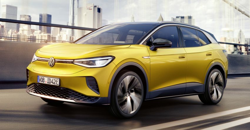 Volkswagen ID.4 electric SUV debuts – 77 kWh battery, 520 km range; from RM135,412 in US after tax credit Image #1182099