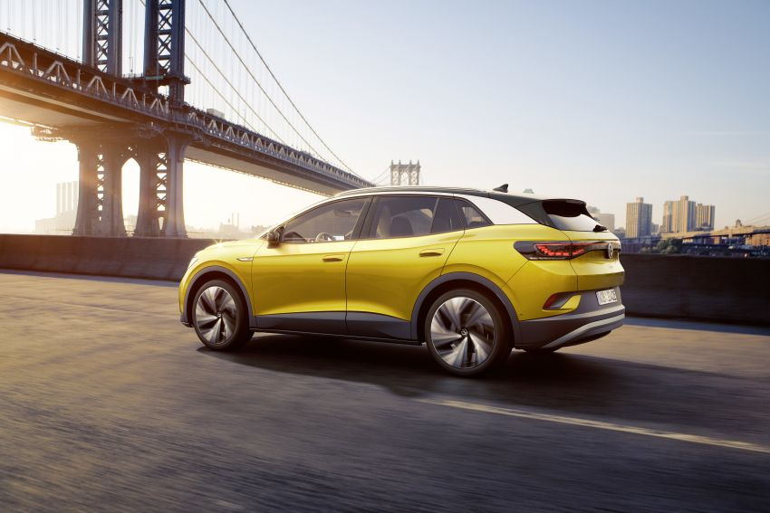 Volkswagen ID.4 electric SUV debuts – 77 kWh battery, 520 km range; from RM135,412 in US after tax credit Image #1182018