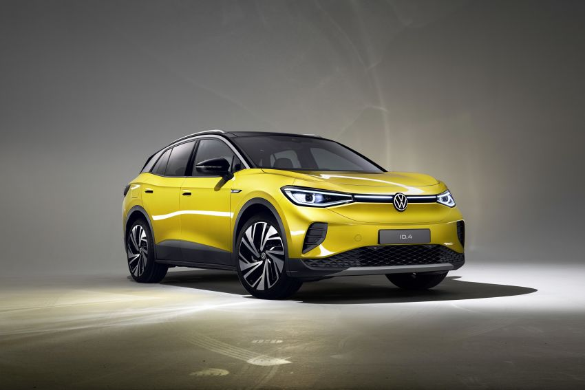 Volkswagen ID.4 electric SUV debuts – 77 kWh battery, 520 km range; from RM135,412 in US after tax credit Image #1182000