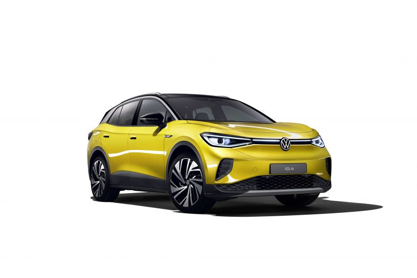 Volkswagen ID.4 electric SUV debuts – 77 kWh battery, 520 km range; from RM135,412 in US after tax credit Image #1181995