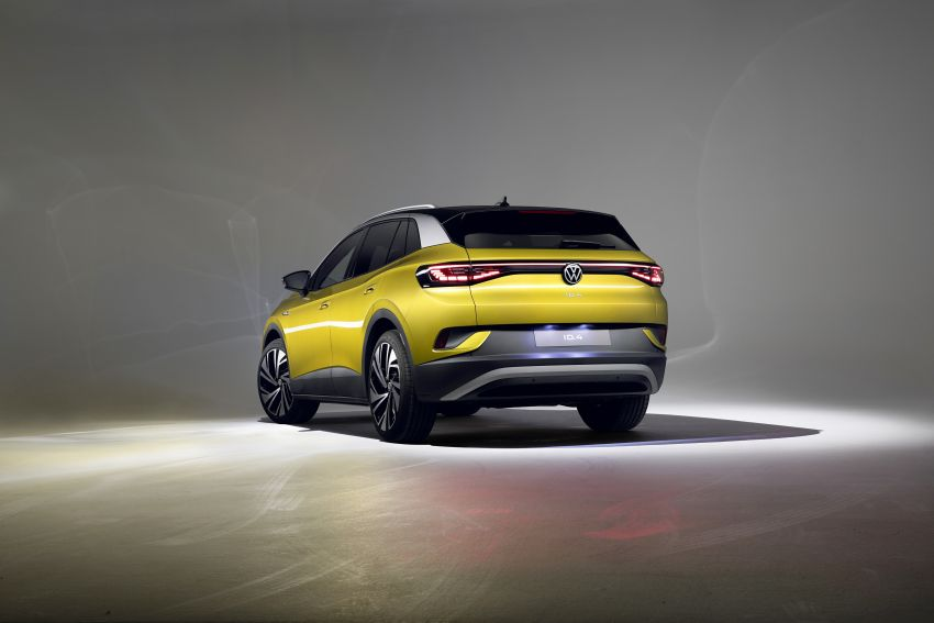 Volkswagen ID.4 electric SUV debuts – 77 kWh battery, 520 km range; from RM135,412 in US after tax credit Image #1182051