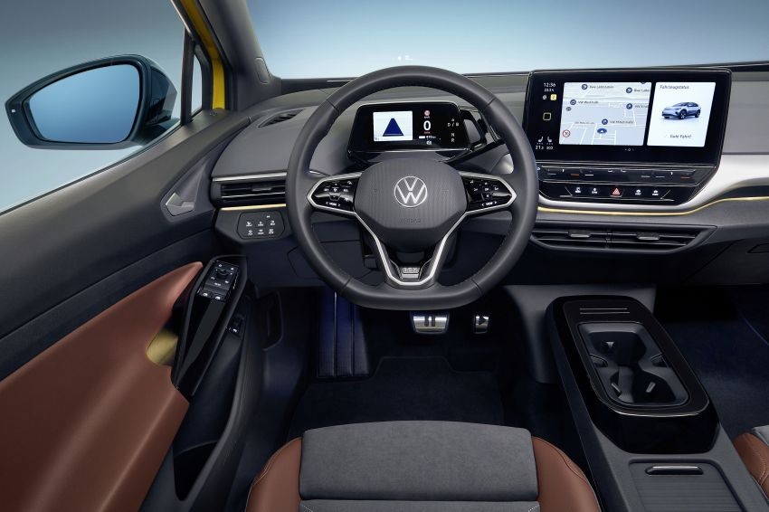 Volkswagen ID.4 electric SUV debuts – 77 kWh battery, 520 km range; from RM135,412 in US after tax credit Image #1182053