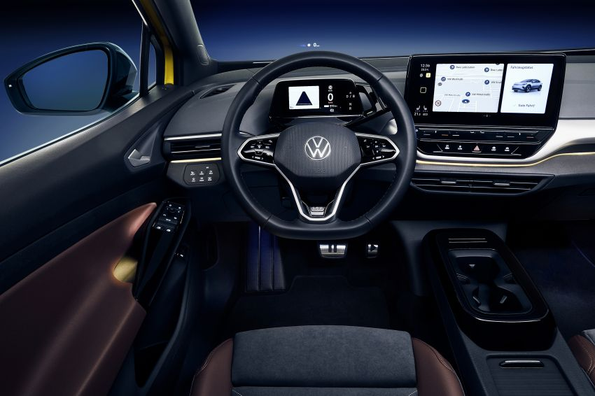 Volkswagen ID.4 electric SUV debuts – 77 kWh battery, 520 km range; from RM135,412 in US after tax credit Image #1182052