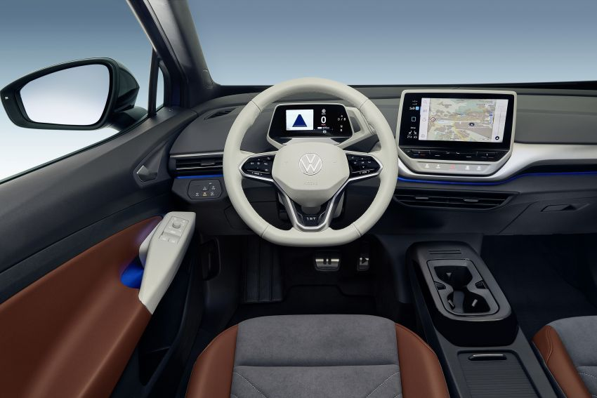 Volkswagen ID.4 electric SUV debuts – 77 kWh battery, 520 km range; from RM135,412 in US after tax credit Image #1182040