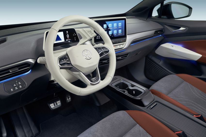 Volkswagen ID.4 electric SUV debuts – 77 kWh battery, 520 km range; from RM135,412 in US after tax credit Image #1182081