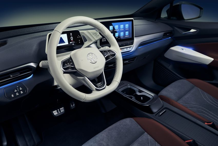 Volkswagen ID.4 electric SUV debuts – 77 kWh battery, 520 km range; from RM135,412 in US after tax credit Image #1181988