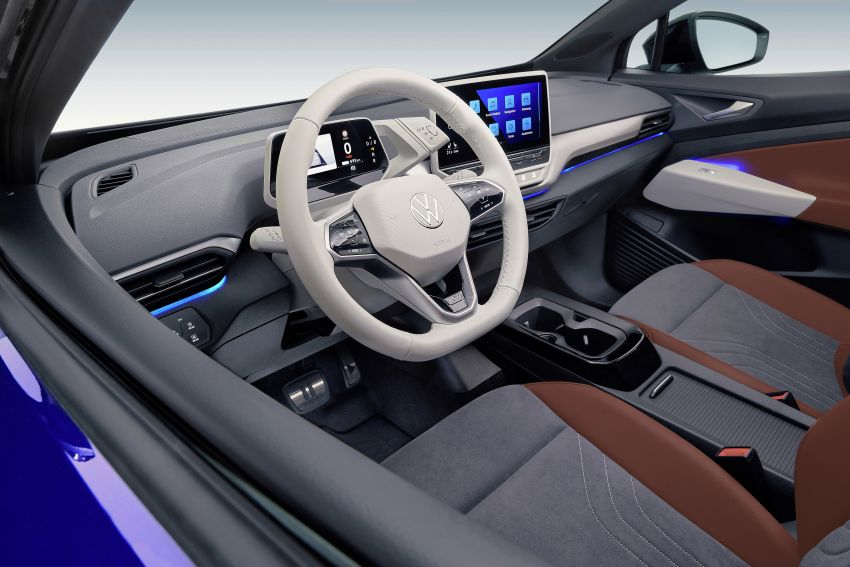 Volkswagen ID.4 electric SUV debuts – 77 kWh battery, 520 km range; from RM135,412 in US after tax credit Image #1181983