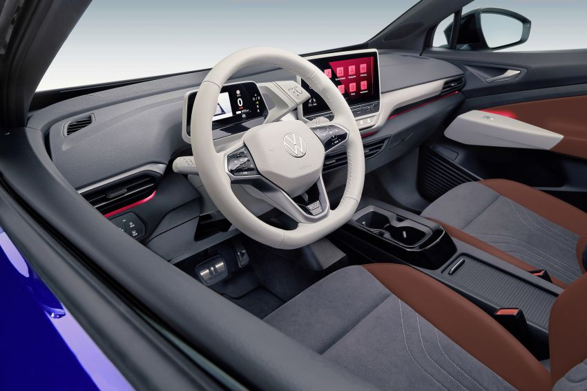 Volkswagen ID.4 electric SUV debuts – 77 kWh battery, 520 km range; from RM135,412 in US after tax credit Image #1182086