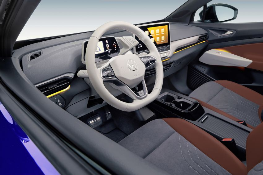 Volkswagen ID.4 electric SUV debuts – 77 kWh battery, 520 km range; from RM135,412 in US after tax credit Image #1182069