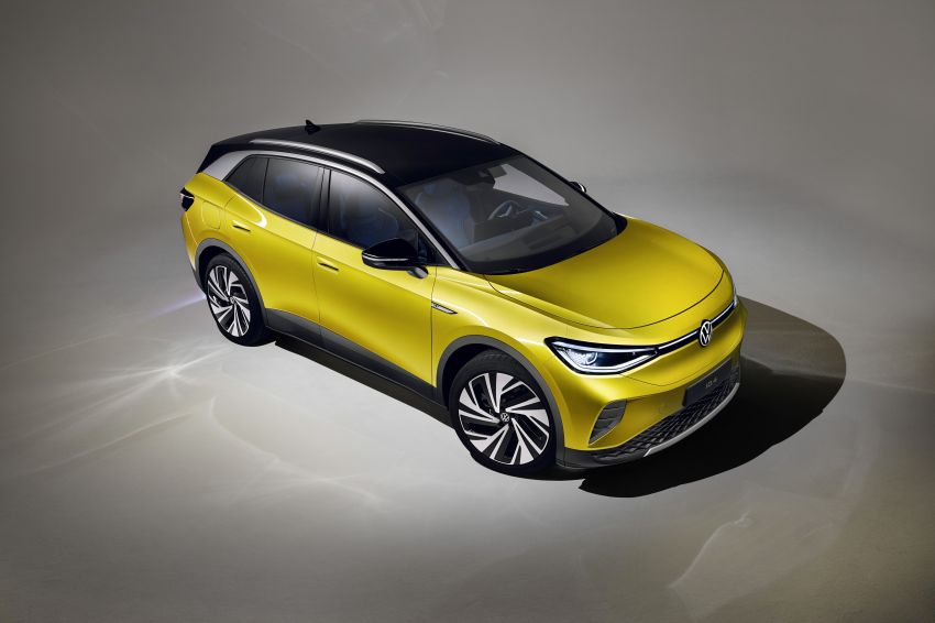 Volkswagen ID.4 electric SUV debuts – 77 kWh battery, 520 km range; from RM135,412 in US after tax credit Image #1182005