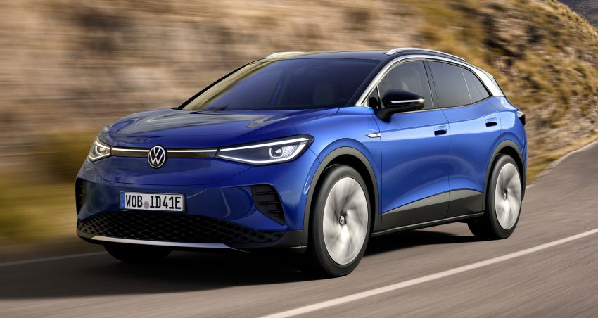 Volkswagen ID.4 electric SUV debuts – 77 kWh battery, 520 km range; from RM135,412 in US after tax credit Image #1182076