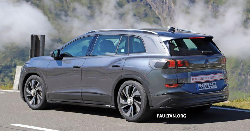 SPYSHOTS: Volkswagen ID 6 electric seven-seater Image #1173803