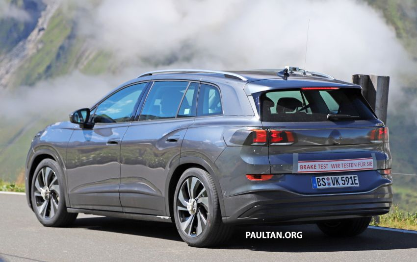 SPYSHOTS: Volkswagen ID 6 electric seven-seater Image #1173800