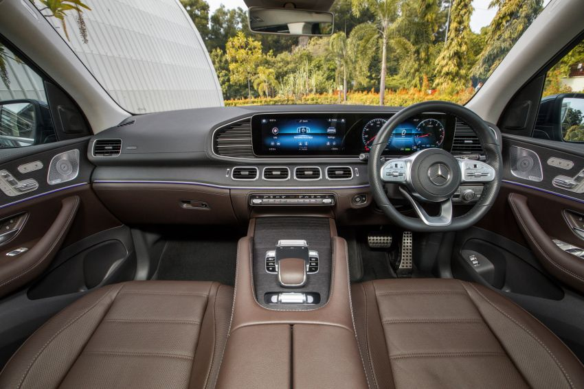 X167 Mercedes-Benz GLS450 4Matic now in Malaysia – 367 PS 3L mild hybrid turbo straight-six; from RM900k Image #1174785