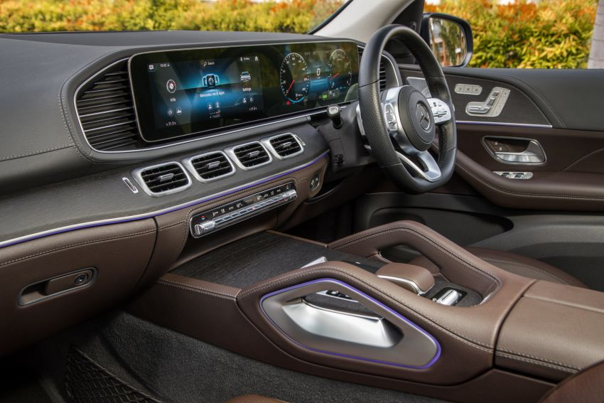 X167 Mercedes-Benz GLS450 4Matic now in Malaysia – 367 PS 3L mild hybrid turbo straight-six; from RM900k Image #1174789