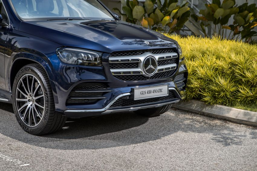 X167 Mercedes-Benz GLS450 4Matic now in Malaysia – 367 PS 3L mild hybrid turbo straight-six; from RM900k Image #1174774
