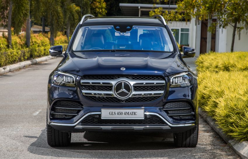 X167 Mercedes-Benz GLS450 4Matic now in Malaysia – 367 PS 3L mild hybrid turbo straight-six; from RM900k Image #1174775