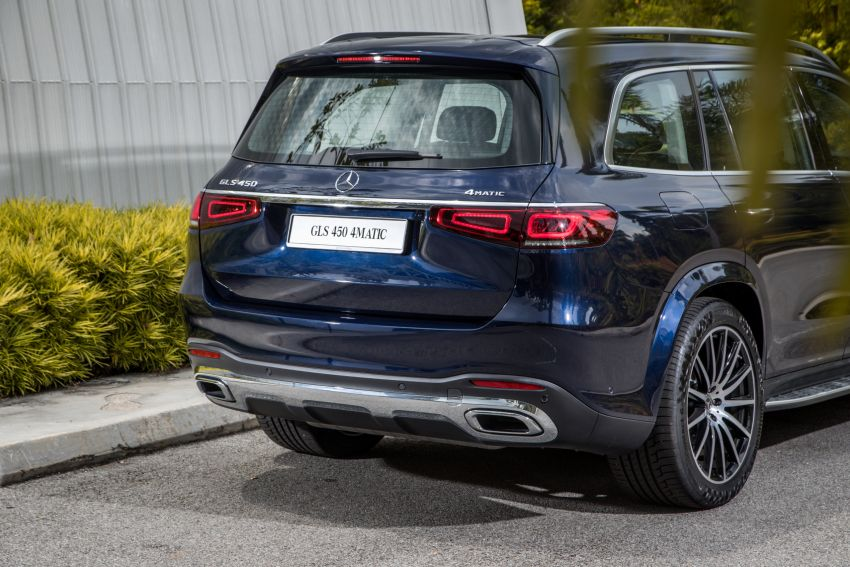 X167 Mercedes-Benz GLS450 4Matic now in Malaysia – 367 PS 3L mild hybrid turbo straight-six; from RM900k Image #1174777