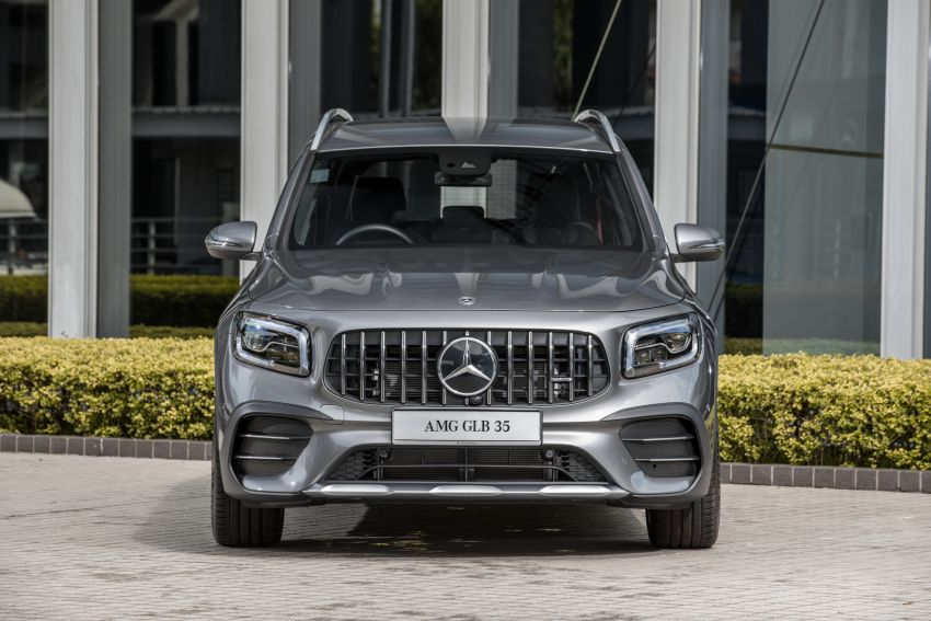 X247 Mercedes-AMG GLB35 4Matic officially launched in Malaysia – 306 PS; 0-100 km/h in 5.2s; from RM363k Image #1179975