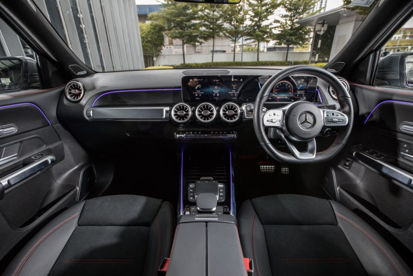 X247 Mercedes-AMG GLB35 4Matic officially launched in Malaysia – 306 PS; 0-100 km/h in 5.2s; from RM363k Image #1179991