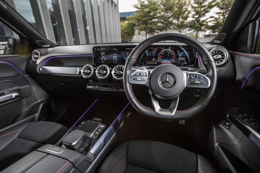 X247 Mercedes-AMG GLB35 4Matic officially launched in Malaysia – 306 PS; 0-100 km/h in 5.2s; from RM363k Image #1179992