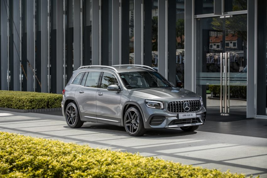 X247 Mercedes-AMG GLB35 4Matic officially launched in Malaysia – 306 PS; 0-100 km/h in 5.2s; from RM363k Image #1179980