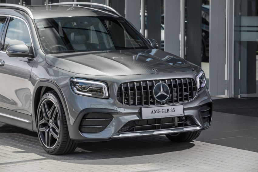 X247 Mercedes-AMG GLB35 4Matic officially launched in Malaysia – 306 PS; 0-100 km/h in 5.2s; from RM363k Image #1179985