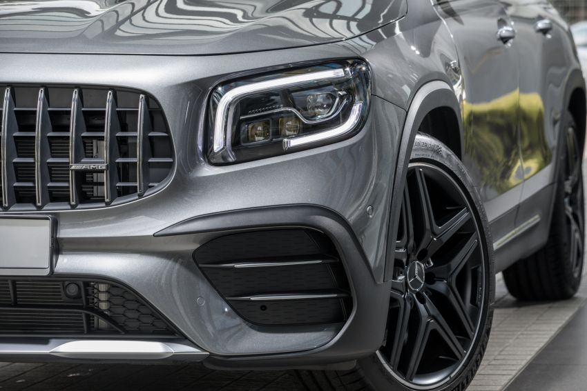 X247 Mercedes-AMG GLB35 4Matic officially launched in Malaysia – 306 PS; 0-100 km/h in 5.2s; from RM363k Image #1179986