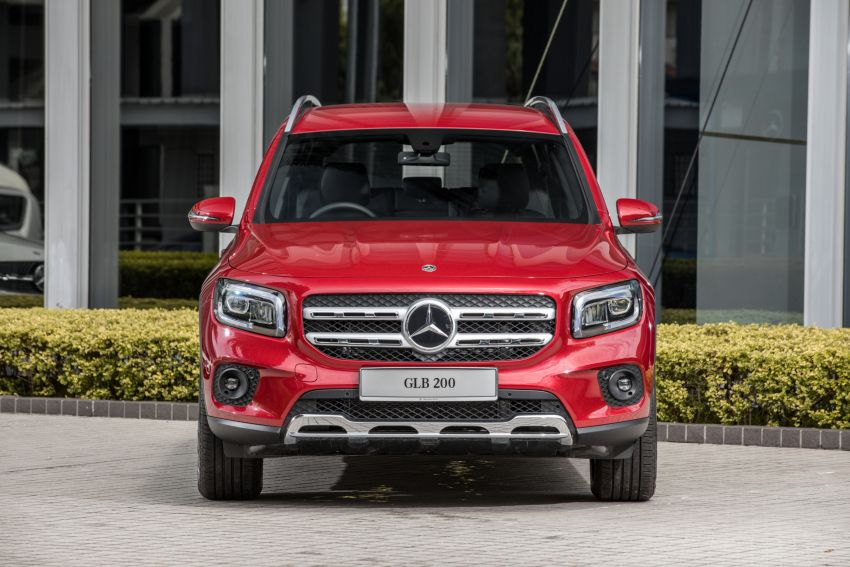 X247 Mercedes-Benz GLB SUV launched in Malaysia – seven-seat GLB200, GLB250 4Matic; from RM269k Image #1179947