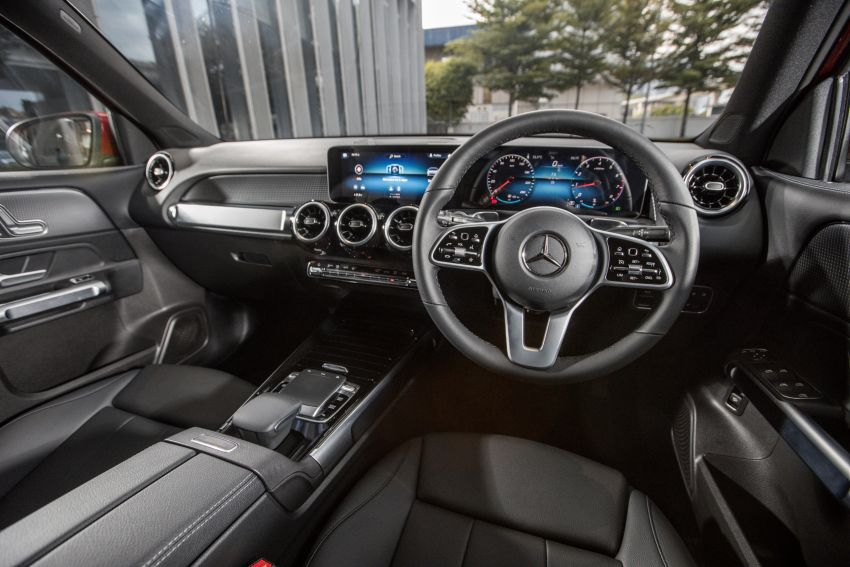 X247 Mercedes-Benz GLB SUV launched in Malaysia – seven-seat GLB200, GLB250 4Matic; from RM269k Image #1179960