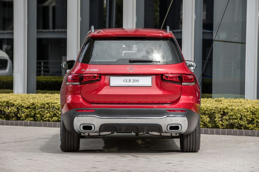 X247 Mercedes-Benz GLB SUV launched in Malaysia – seven-seat GLB200, GLB250 4Matic; from RM269k Image #1179948