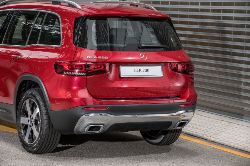 X247 Mercedes-Benz GLB SUV launched in Malaysia – seven-seat GLB200, GLB250 4Matic; from RM269k Image #1179971