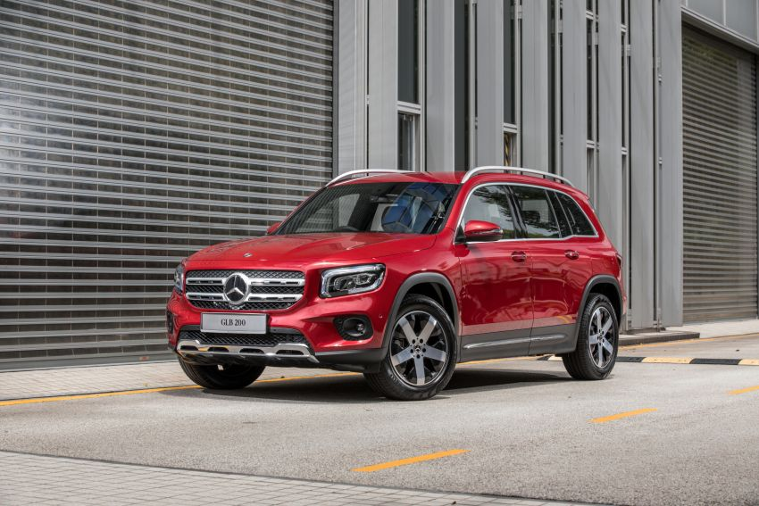 X247 Mercedes-Benz GLB SUV launched in Malaysia – seven-seat GLB200, GLB250 4Matic; from RM269k Image #1179950
