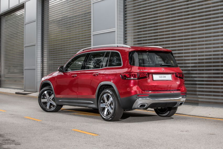 X247 Mercedes-Benz GLB SUV launched in Malaysia – seven-seat GLB200, GLB250 4Matic; from RM269k Image #1179952