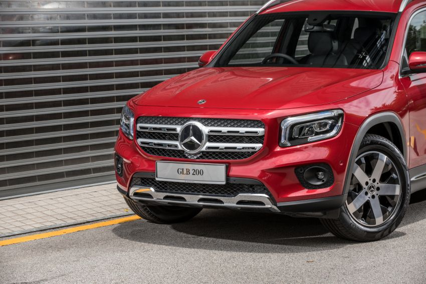 X247 Mercedes-Benz GLB SUV launched in Malaysia – seven-seat GLB200, GLB250 4Matic; from RM269k Image #1179953