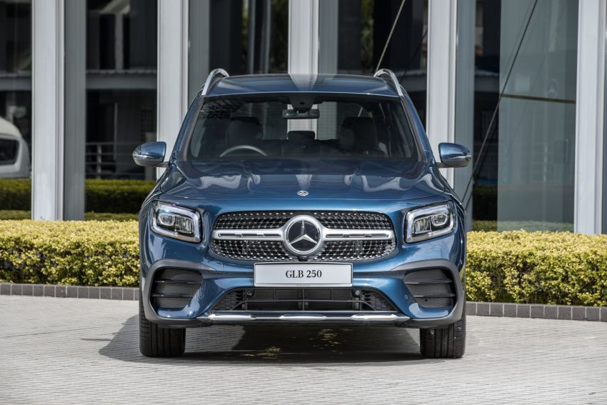 X247 Mercedes-Benz GLB SUV launched in Malaysia – seven-seat GLB200, GLB250 4Matic; from RM269k Image #1179922