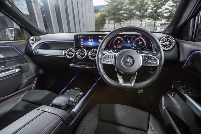 X247 Mercedes-Benz GLB SUV launched in Malaysia – seven-seat GLB200, GLB250 4Matic; from RM269k Image #1179938