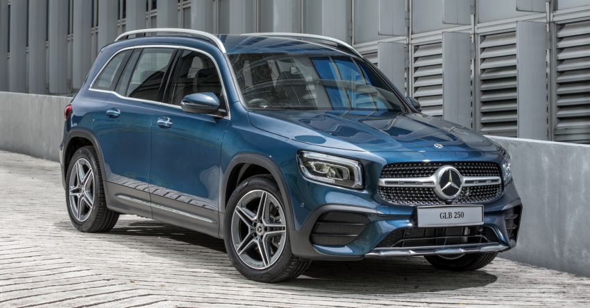 X247 Mercedes-Benz GLB SUV launched in Malaysia – seven-seat GLB200, GLB250 4Matic; from RM269k Image #1179927