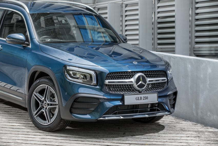 X247 Mercedes-Benz GLB SUV launched in Malaysia – seven-seat GLB200, GLB250 4Matic; from RM269k Image #1179930
