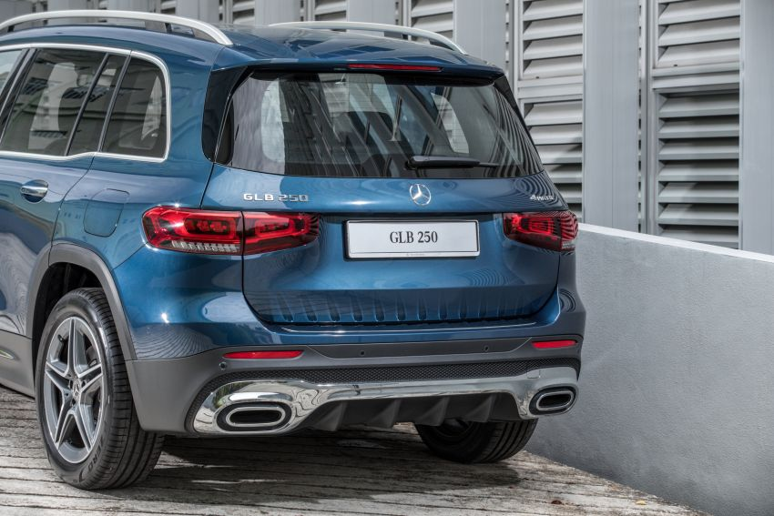 X247 Mercedes-Benz GLB SUV launched in Malaysia – seven-seat GLB200, GLB250 4Matic; from RM269k Image #1179934