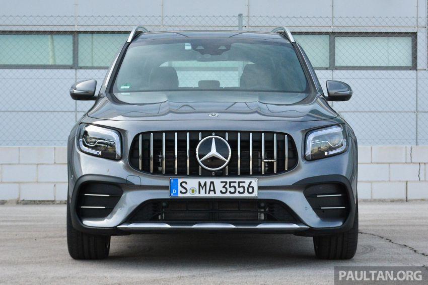 DRIVEN: X247 Mercedes-Benz GLB – niche entered Image #1183812