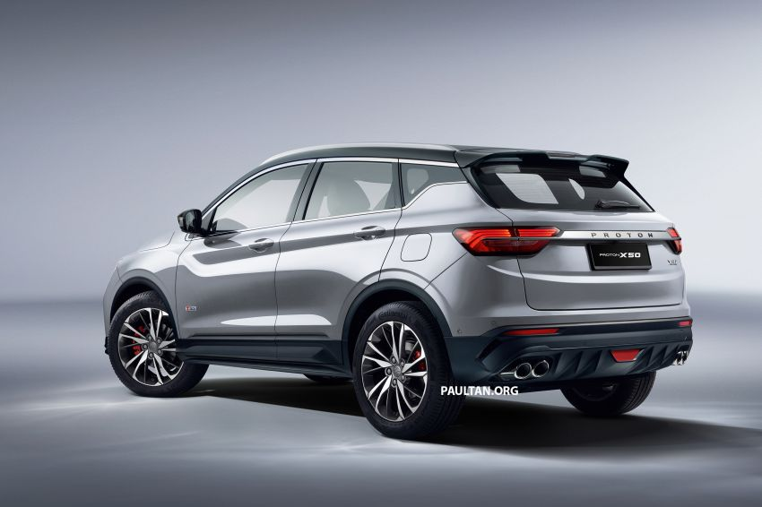 2020 Proton X50 variant breakdown – spec differences between Standard, Executive, Premium and Flagship Image #1177545