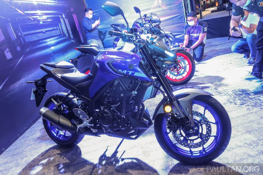 Yamaha MT-25 tiba di Malaysia – dua warna, RM21.5k Image #1175425