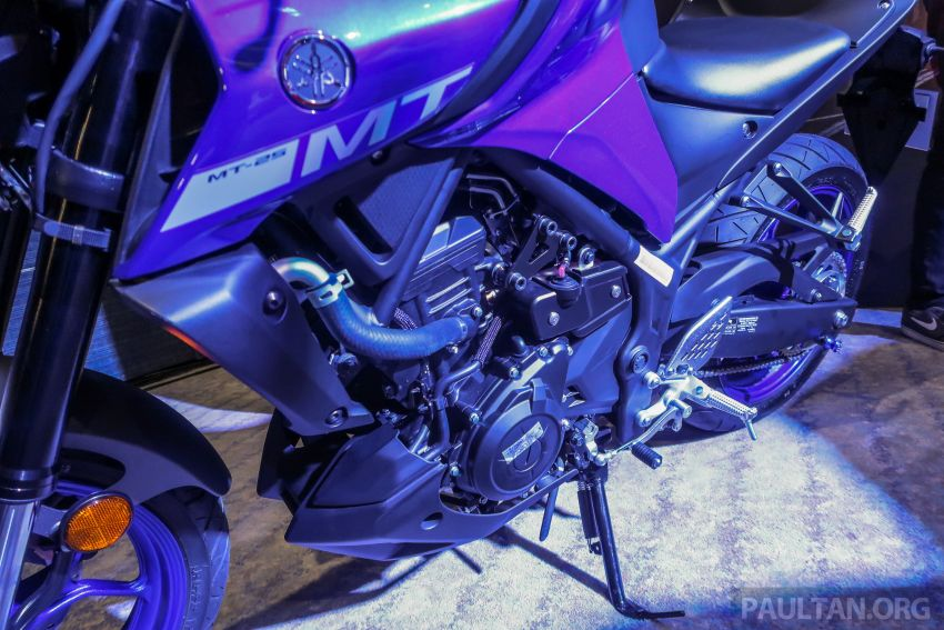 Yamaha MT-25 tiba di Malaysia – dua warna, RM21.5k Image #1175389