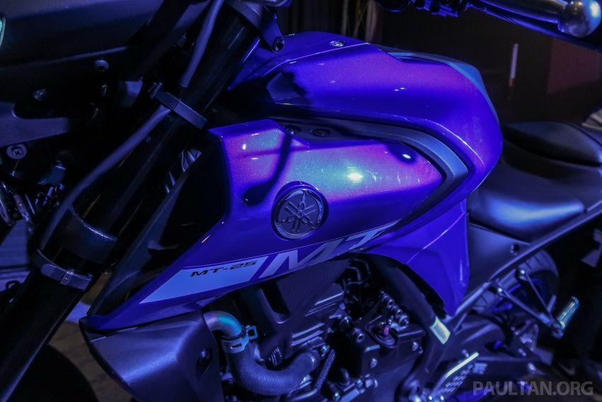 Yamaha MT-25 tiba di Malaysia – dua warna, RM21.5k Image #1175387
