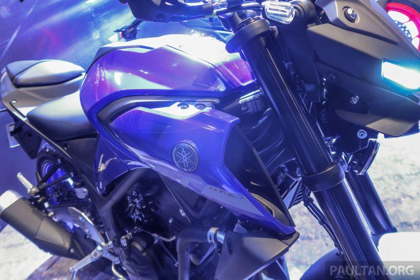 Yamaha MT-25 tiba di Malaysia – dua warna, RM21.5k Image #1175412