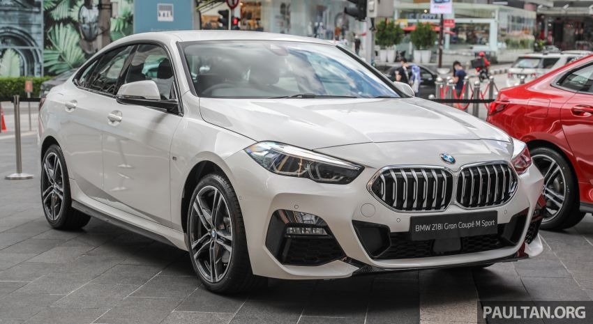 F44 BMW 2 Series Gran Coupé launched in Malaysia – CKD 218i M Sport with 140 PS/220 Nm, RM211,367 Image #1189832