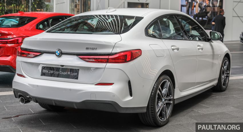F44 BMW 2 Series Gran Coupé launched in Malaysia – CKD 218i M Sport with 140 PS/220 Nm, RM211,367 Image #1189833